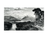 Loch Lomond, Engraved by Thomas Brown, from 'six Engravings in Illustration of Roy Roy for the… Giclee Print by Samuel Bough