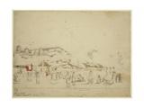 Chumbah Hun/Chamba Mountains, Alpine Punjab, Himachal Pradesh, 1835 Giclee Print by Godfrey Thomas Vigne