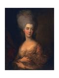 Anne, Duchess of Cumberland, C.1777 Giclee-trykk av Gainsborough, Thomas