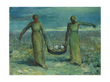 The Stone Carriers Giclee Print by George William Russell