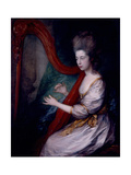 Louisa, Lady Clarges, 1778 Giclee Print by Thomas Gainsborough