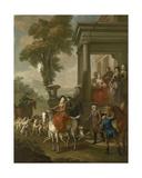 The Meet, 1743 Giclee Print by Pieter Jan van Reysschoot