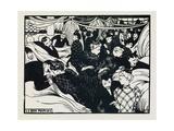 Le Bon Marche, 1893 Giclee Print by Felix Edouard Vallotton