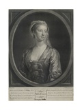 Miss Fenton, Engraved by John Faber the Younger (C.1695-1756), 1728 Giclee Print by John Ellys