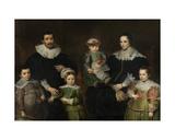 Family Portrait, C.1630-35 Giclée-Druck von Cornelis de Vos