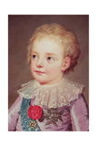 Portrait of Dauphin Louis, 1784 Giclee Print by Adolf Ulrich Wertmuller