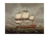 A Liverpool Slave Ship, C.1780 Giclee Print by William Jackson