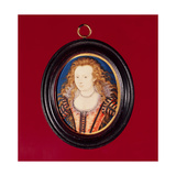 Elizabeth Stanley, Countess of Huntingdon, C.1601-10 Giclee Print by Nicholas Hilliard