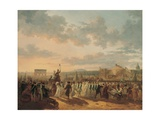 Preparations for the Fete De La Federation, 14th July 1790 Giclee Print by Philibert Louis Debucourt