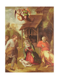 Adoration of the Shepherds, 1516 Giclee Print by  Correggio