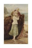 A Fisherman's Children, 1881 Giclee Print by Samuel Mccloy