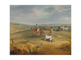 Coursing: Finding a Hare Giclee Print by Samuel Alken
