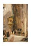 Street in Genoa Giclee Print by James Holland