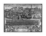 Coronation of Dogaressa Morosina Morosini-Grimani, 1597 Giclee Print by Giacomo Franco