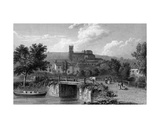 Hythe from the Canal Bridge, Engraved by E. Finden, 1829 Giclee Print by William Westall