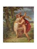 Apollo and Daphne Giclee Print by Andrea the Elder Appiani