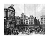The Procession of Marie De' Medici Through Amsterdam, from Caspar Barlaeus's 'Medicea Hospes',… Giclee Print by Jan the Younger Martsen