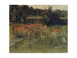 Poppies, Reigate, 1890 Giclee Print by Sarah Paxton Ball Dodson