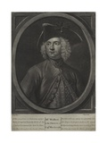 Mr. Walker in the Character of Captain Macheath, Engraved by John Faber the Younger… Giclee Print by John Ellys