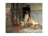 The Guards of the Harem Giclee Print by Ludwig Deutsch