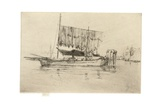 Fishing Boat, 1879-80 Giclee Print by James Abbott McNeill Whistler