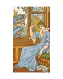 Since First I Saw Your Face', Song Illustration from 'Pan-Pipes', a Book of Old Songs, Newly… Giclee Print by Walter Crane