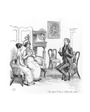 To Whom I Have Related the Affair', Illustration from 'Pride and Prejudice' by Jane Austen,… Giclee Print by Hugh Thomson