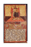 Biccherna of Good Government, 1344 Giclee Print by Ambrogio Lorenzetti