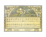 How Should I Your True Love Know', Ophelia's Song from 'Hamlet', Act IV, Scene 5, Illustration… Giclee Print by Walter Crane