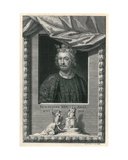 König Johann Giclée-Druck von George Vertue