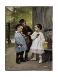 Give Me a Bite, 1883 Giclee Print by Henri Jules Jean Geoffroy