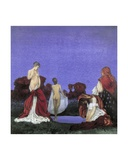 Gypsies Bathing Giclee Print by Blamire Young