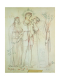 Illustration to the Song of Solomon, 1868 Giclee Print by Simeon Solomon