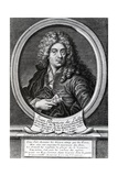 Jean-Baptiste De Lully, Engraved by Etienne Desrochers Giclee Print by Nicolas Mignard