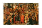 The Descent from the Cross Giclee Print by Benozzo di Lese di Sandro Gozzoli