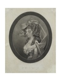 Mrs. Billington, Engraved by Robert Dunkarton (1744-C.1811), 1786 Giclee Print by John Downman