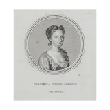 Francesca Cuzzoni Sandoni, from 'A General Dictionary of the Science and Practice of Music' by… Giclee Print by Enoch Seeman