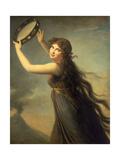 Lady Hamilton as a Bacchante, C.1790 Giclee Print by Elisabeth Louise Vigee-LeBrun