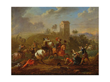 Bandits Scene Giclee Print by Philips Wouwermans Or Wouwerman
