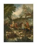 The Kill, 1743 Giclee Print by Pieter Jan van Reysschoot