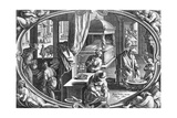 Winter, Engraved by Philip Galle, C.1580 Giclee Print by Jan van der Straet