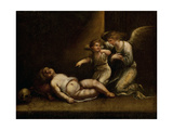 Death of a Putto Giclee Print by Luigi Crespi