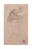 The Surgeon Pean Operating (Man in Profile), 1891 Lámina giclée por Henri de Toulouse-Lautrec