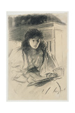 Miss Anstruther Thomson, 1899 Giclee Print by John Singer Sargent