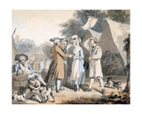 The Statute, October 1787 Gicleetryck av John Nixon