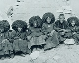 Nuns from Ta-Tshang Nunnery, 1887-1908 Photographic Print by John Claude White