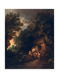 Cottage Door, C.1780 Giclee Print by Thomas Gainsborough