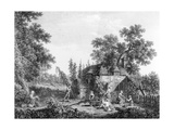 The Hop Pickers, Etched by Francis Vivares, 1760 Giclee Print by George, of Chichester Smith