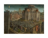 Titus' Conquest of Jerusalem (Detail) Giclee Print by  Vienna Master of Mary of Burgundy