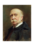 Portrait of William Osborne Giclee Print by Walter Frederick Osborne
